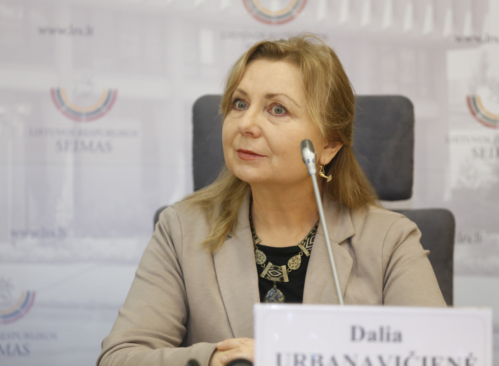 D. Urbanavičienė vadovaus Etninės kultūros globos tarybai