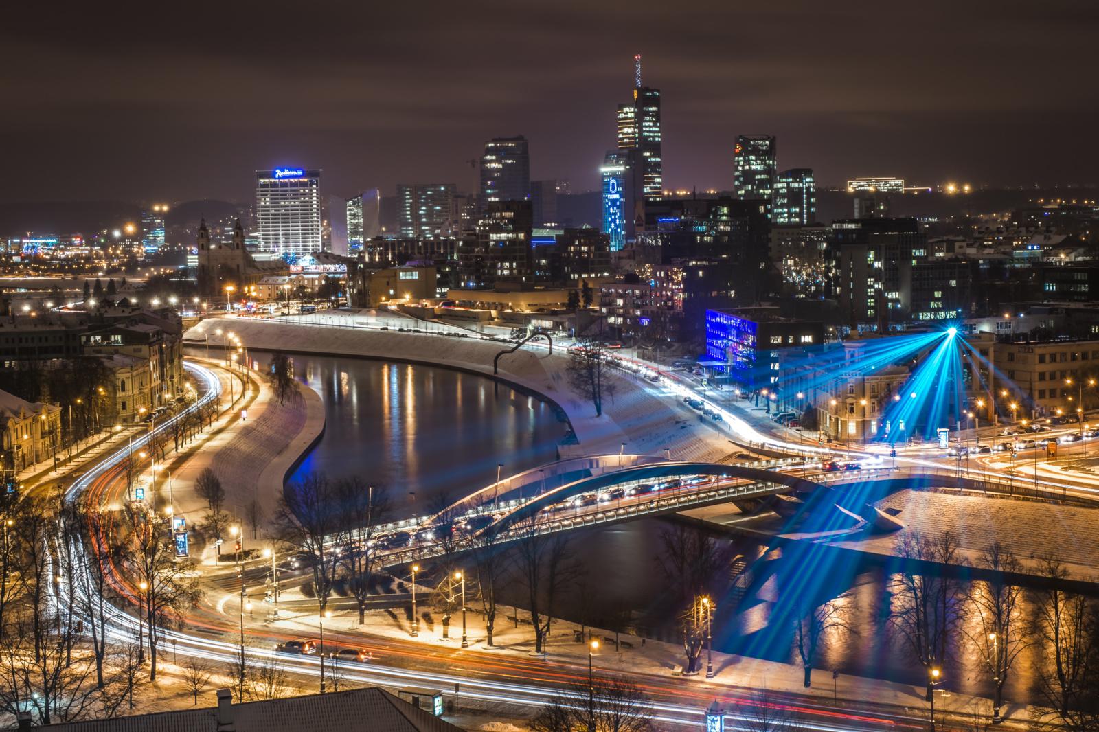 Rudenišką Vilniaus dangų vėl nušvies fejerverkų festivalio ugnys