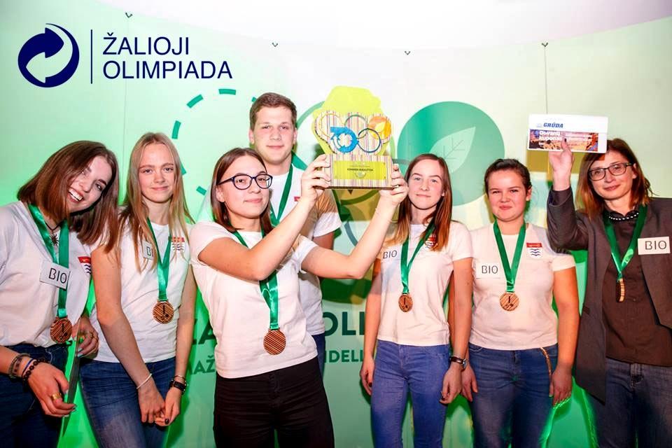 """Nacionalinė """"Žalioji olimpiada"""" Lietuvos moksleivius kviečia pasinerti į linksmą ekologinį žaidimą"""