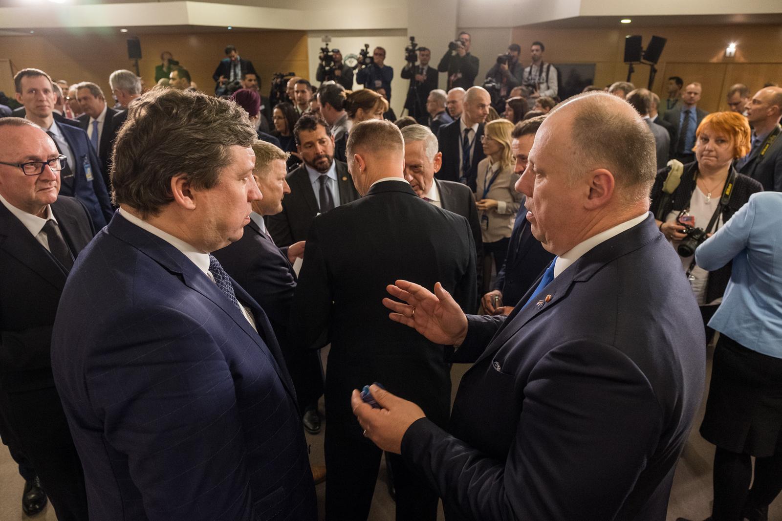 Vyko NATO gynybos ministrų pasitarimas
