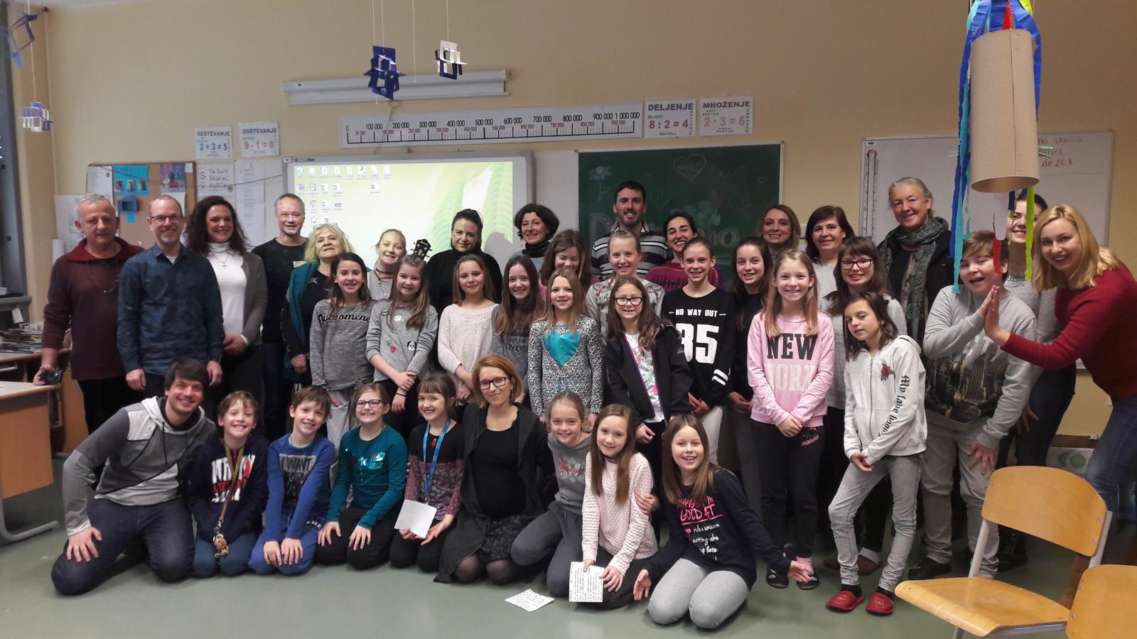 ŠU gimnazijos pedagogės tobulinosi Liublianoje