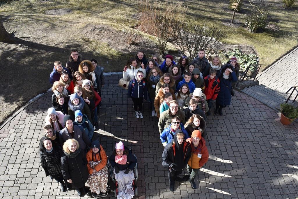 Aktyvi ir linksma projekto Nordplus Junior savaitė Šiaulių sanatorinėje mokykloje
