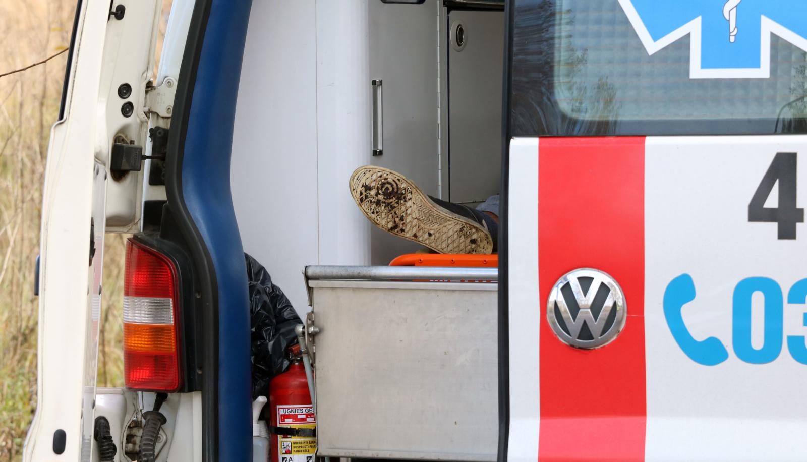 Šilutėje susidūrus automobiliams sužalotas žmogus