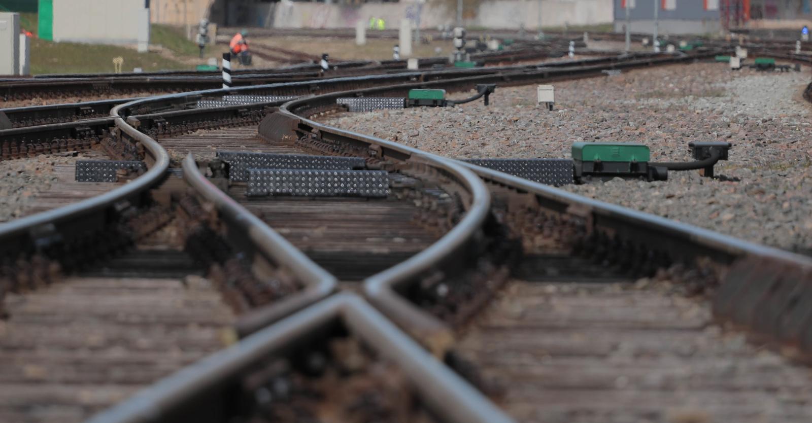 Pareigūnai organizuoja reidus šalies geležinkelio pervažose