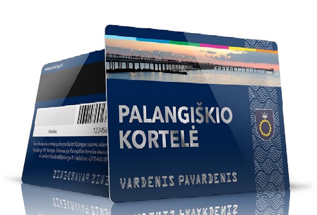 Informacija norintiems gauti palangiškio kortelę