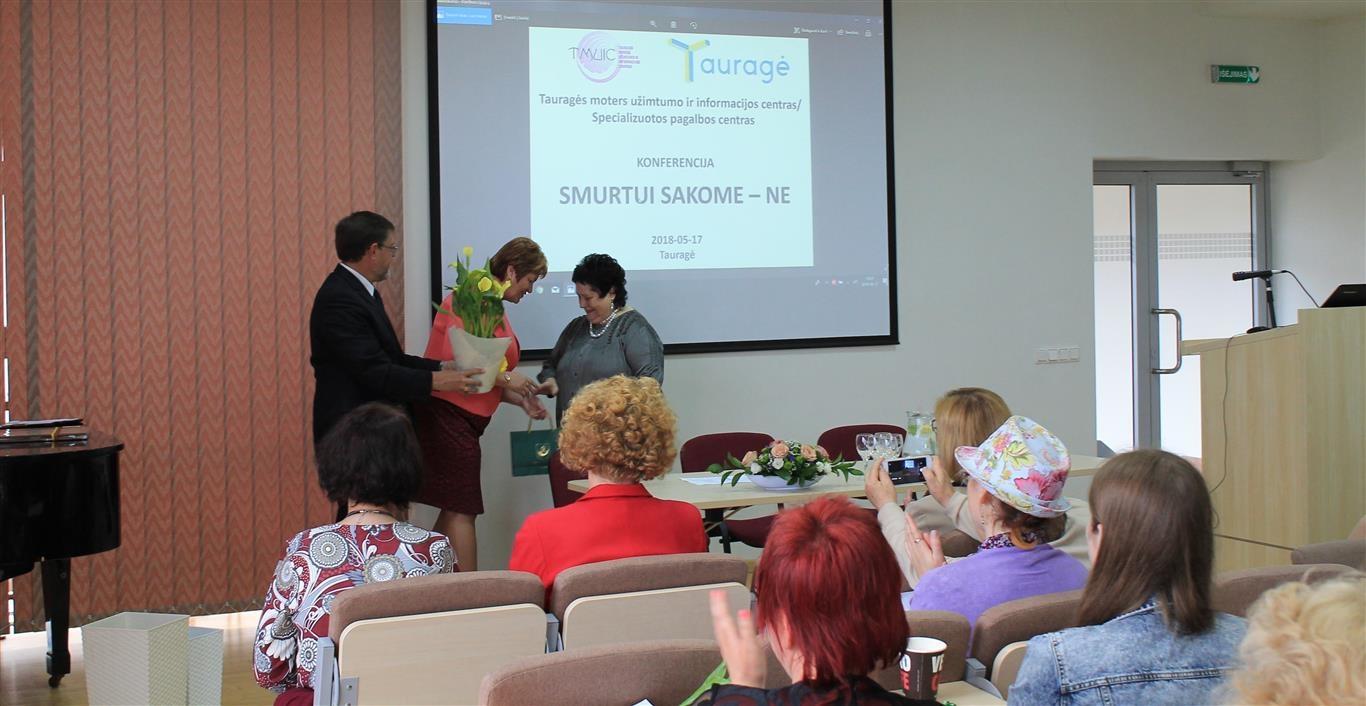 Moters užimtumo ir informacijos centras paminėjo 20-ies metų veiklos jubiliejų