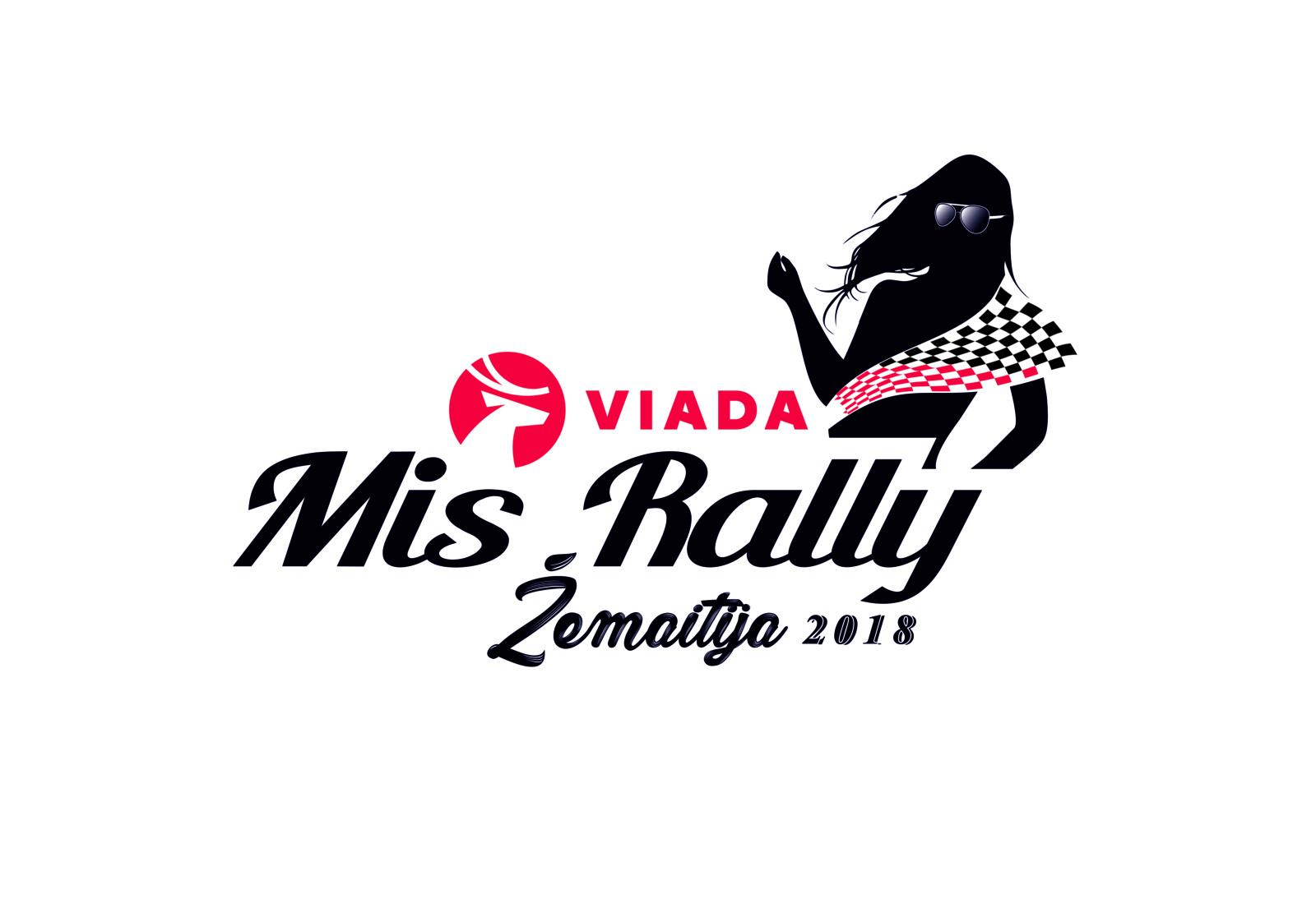 Paaiškės VIADA Mis Rally Žemaitija 2018 finalistės