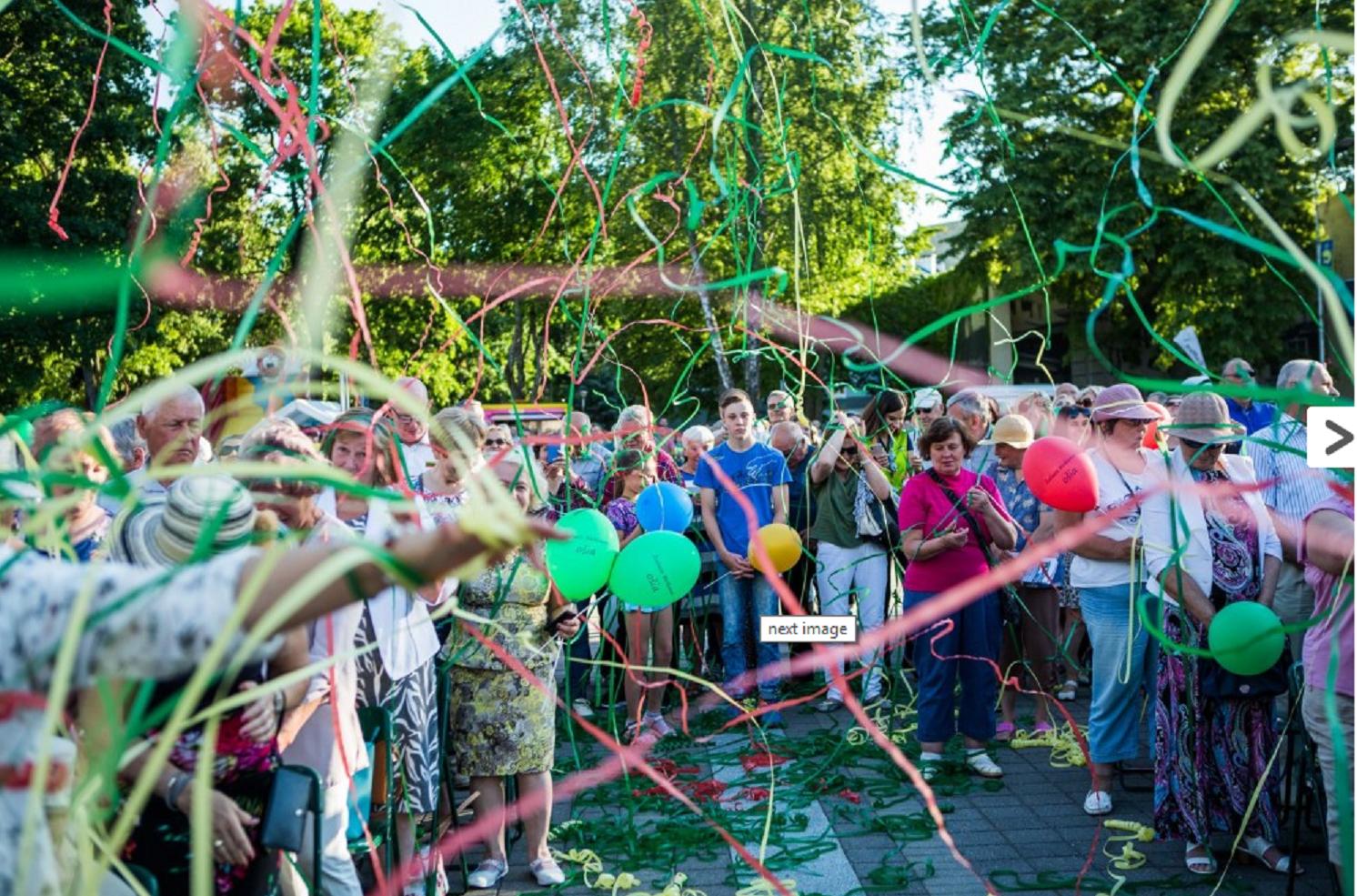 """""""Žaliąjį"""" gimtadienį atšventė Birštono kurortas"""