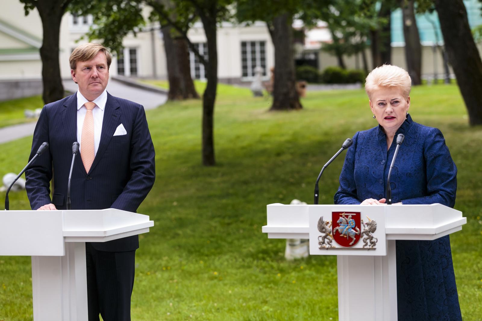 D. Grybauskaitė: vis didesnė atsakomybė užtikrinant saugumą teks Europai