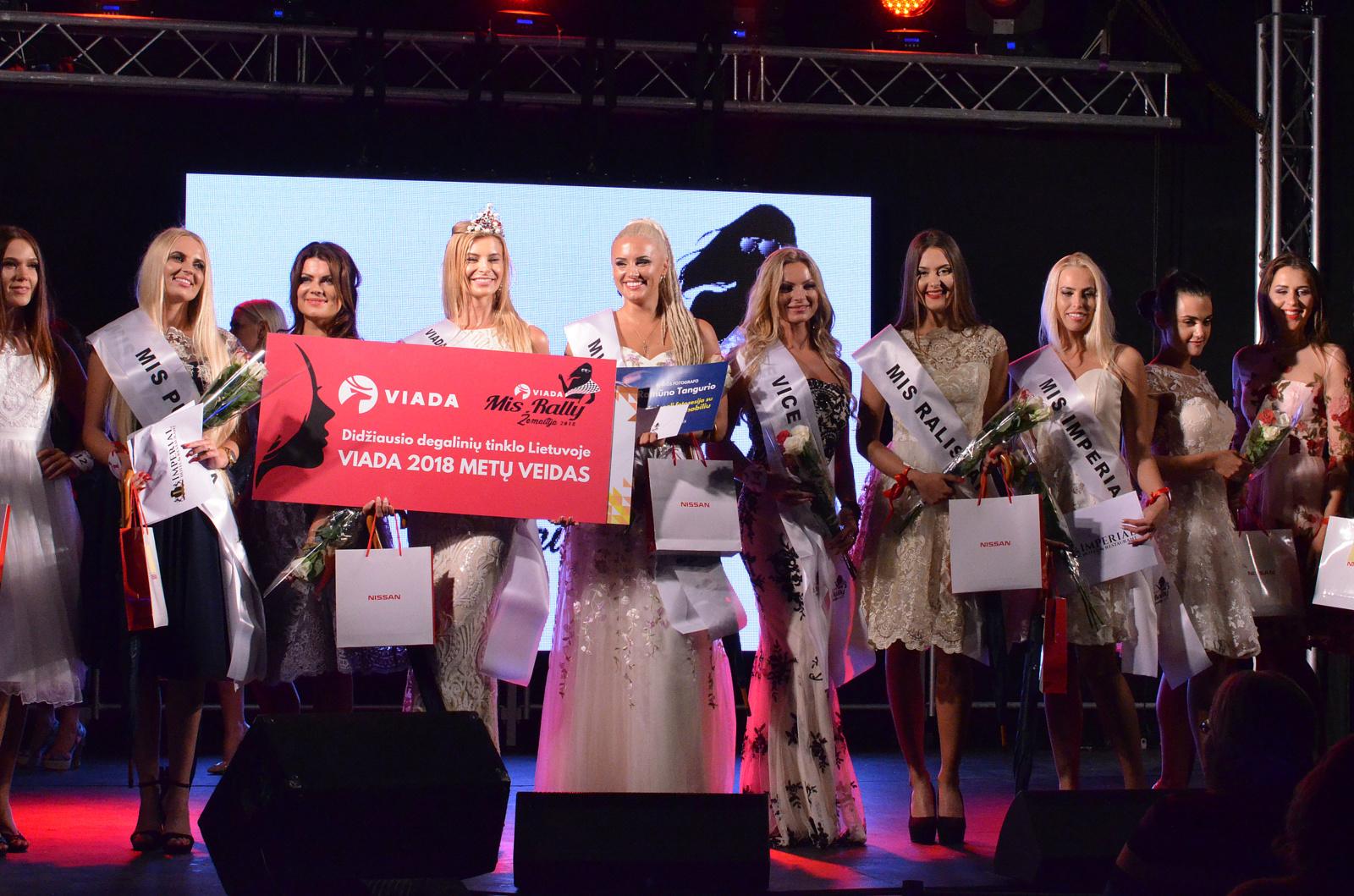 Išrinkta VIADA Mis Rally Žemaitija 2018 nugalėtoja: komisijoje įžymūs lenktynininkai