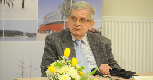 Rašytojui T. Venclovai – Getingeno universiteto garbės daktaro laipsnis