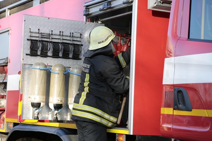 Rokiškio rajone degė namas