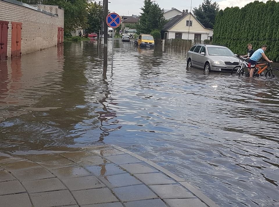 Skendo Panevėžys, skęs visa Lietuva?