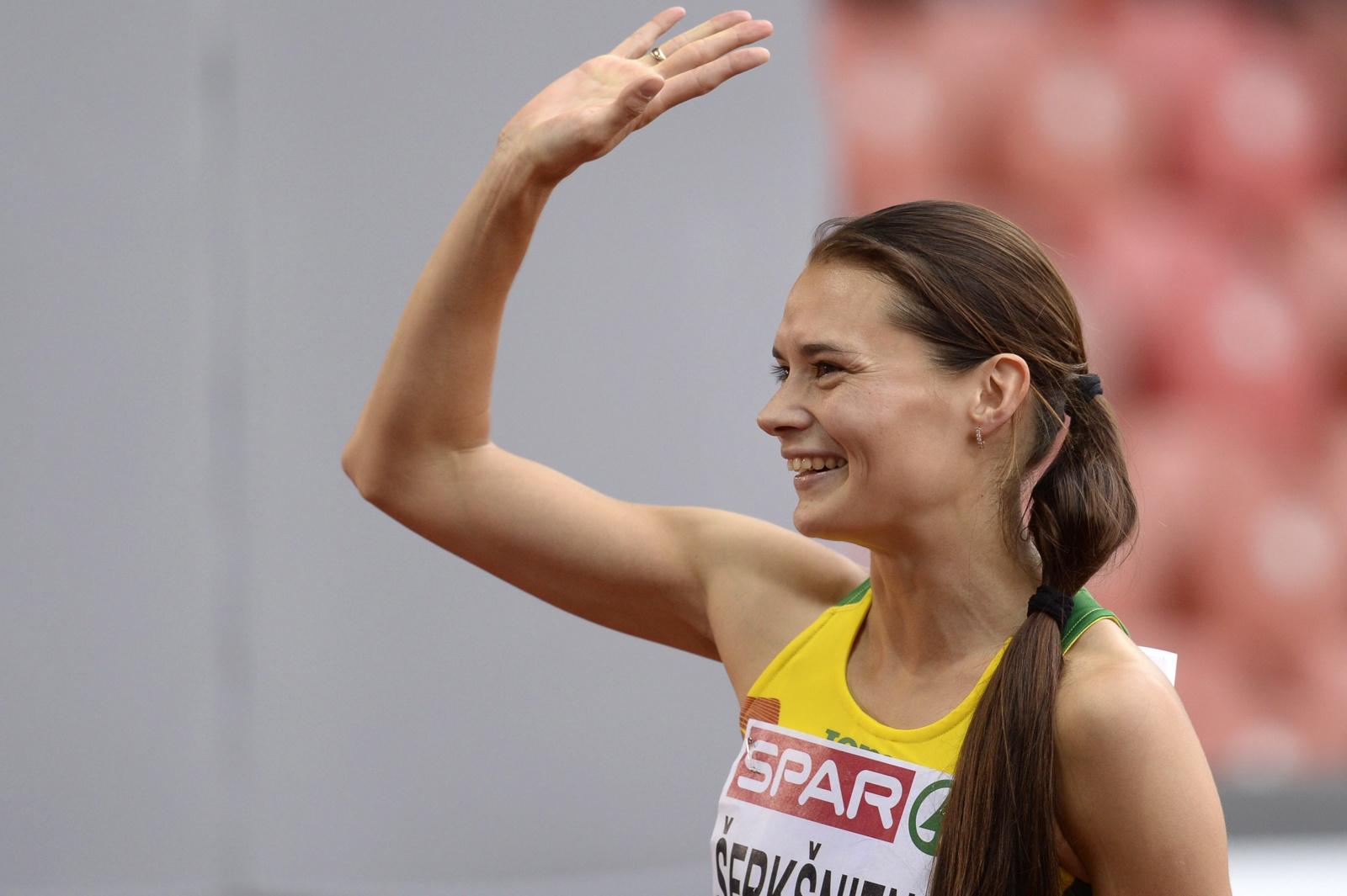 Bėgikė A. Šerkšnienė pateko į Europos čempionato finalą
