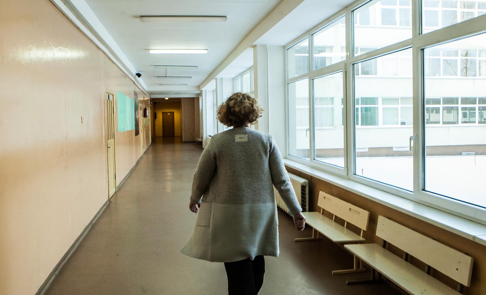 Įstatymo pataisa padėtų apginti mokytojus nuo mokinių smurto