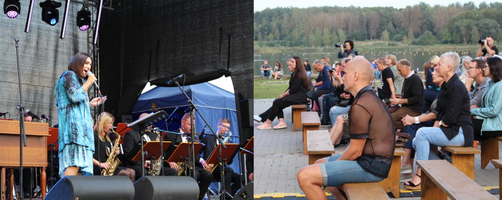 Talkšos ežero pakrantėje suskambo tarptautinis bigbendų festivalis (nuotraukų galerija)