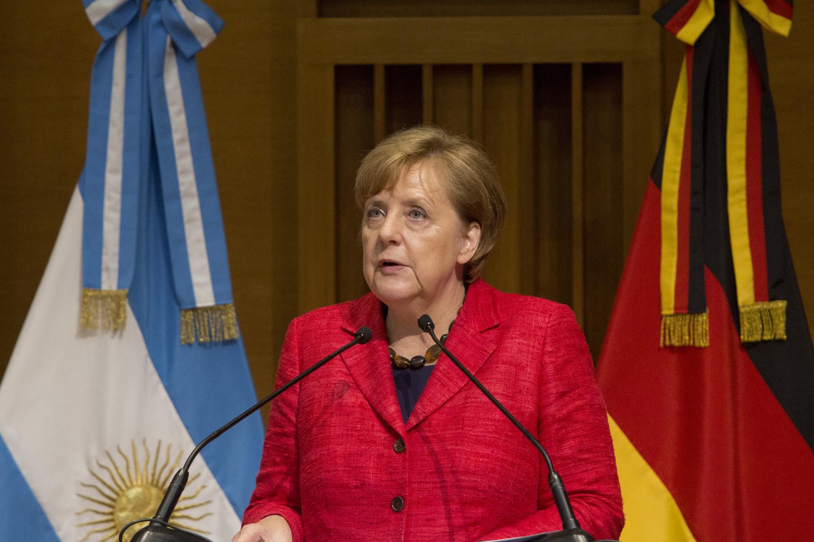 Lietuvoje lankosi Vokietijos kanclerė A. Merkel