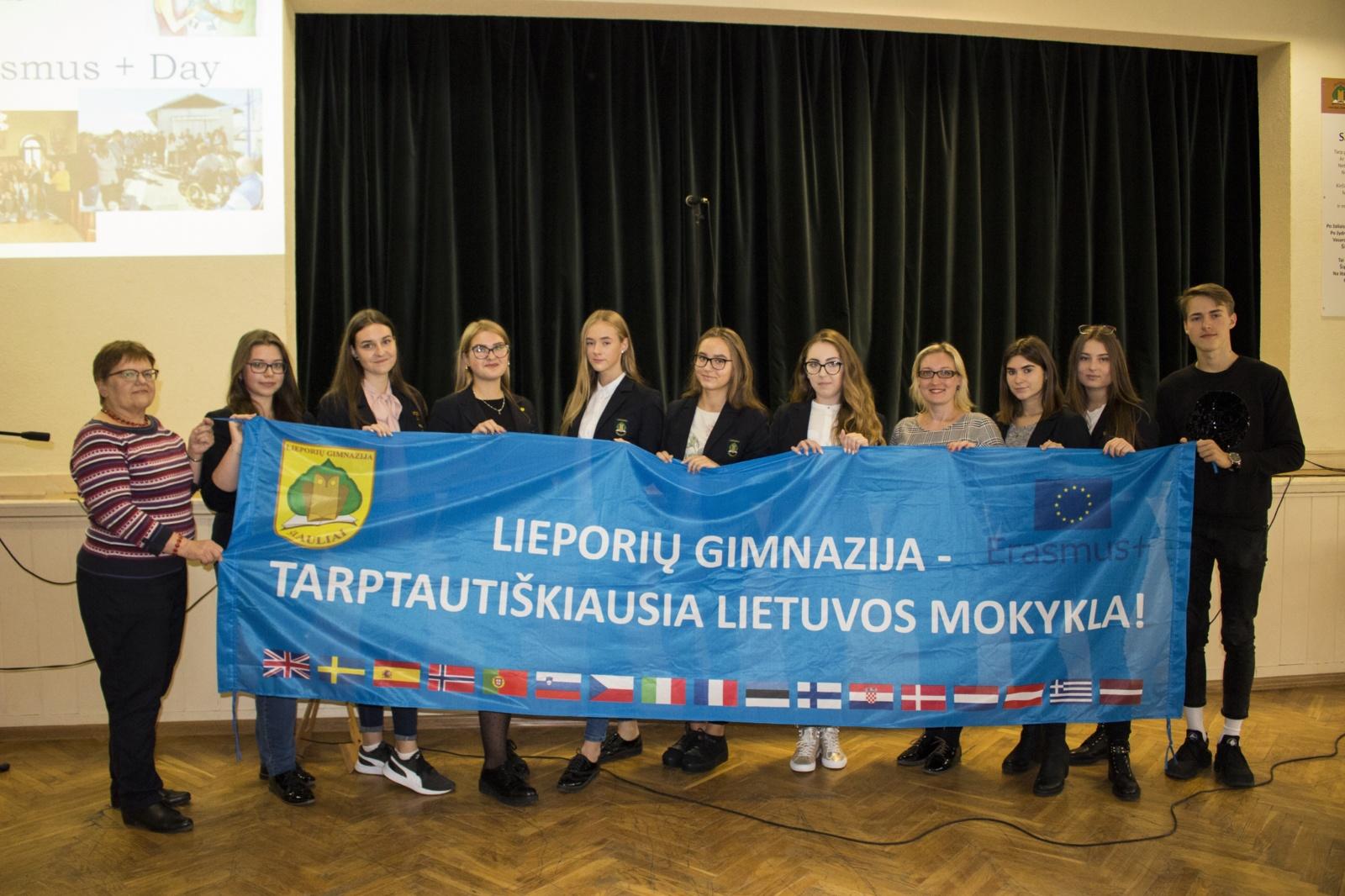 """,,Erasmus+"""" diena Lieporių gimnazijoje"""