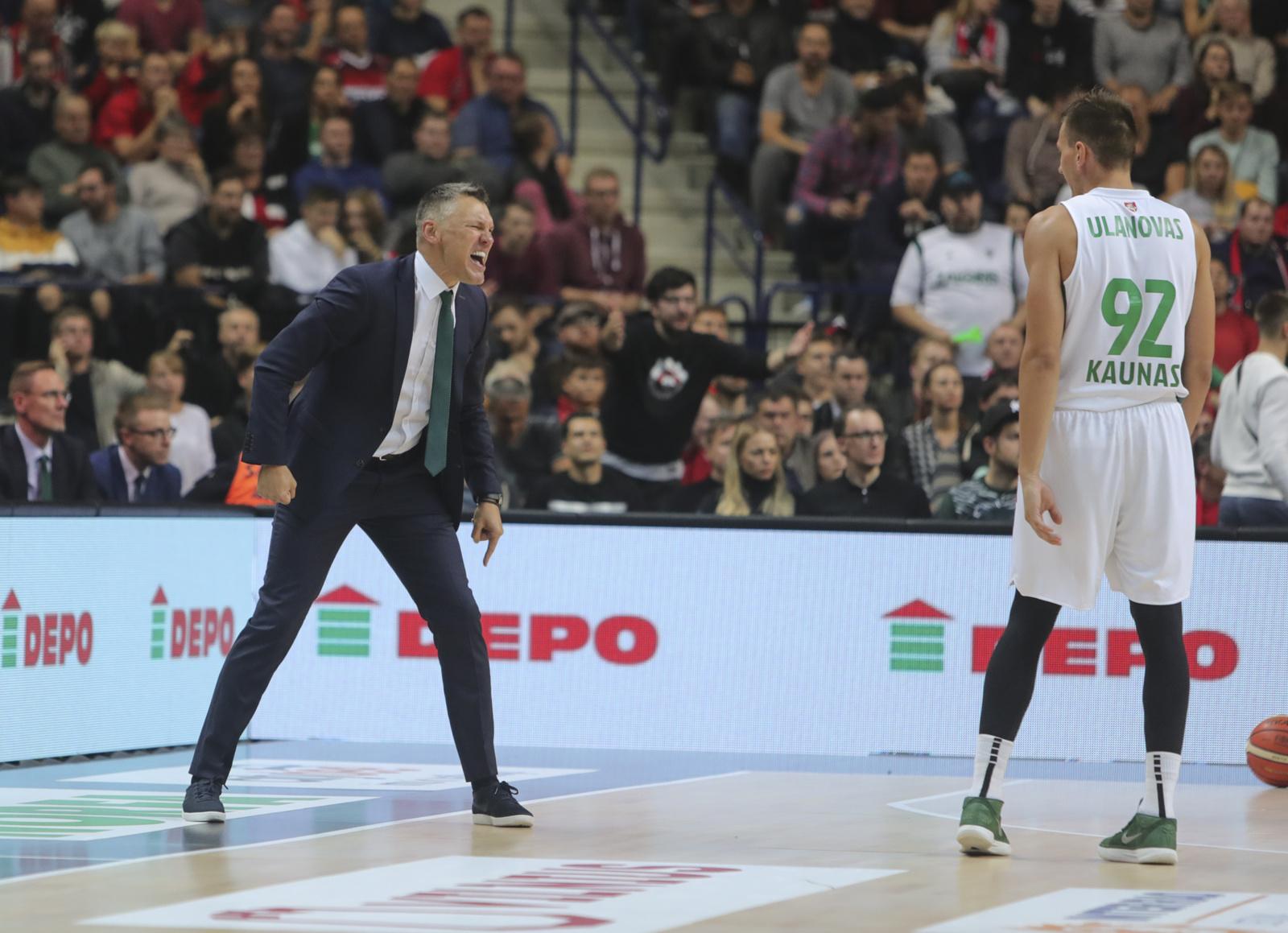 """""""Žalgirio"""" krepšininkai pralaimėjo pirmąsias Eurolygos ketvirtfinalio rungtynes"""