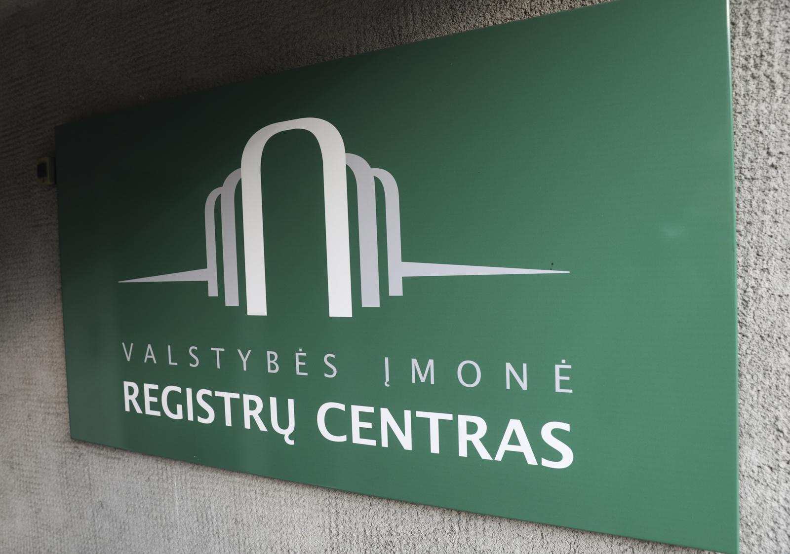 Registrų centras pasirašė sutartį dėl prekės ženklo atnaujinimo
