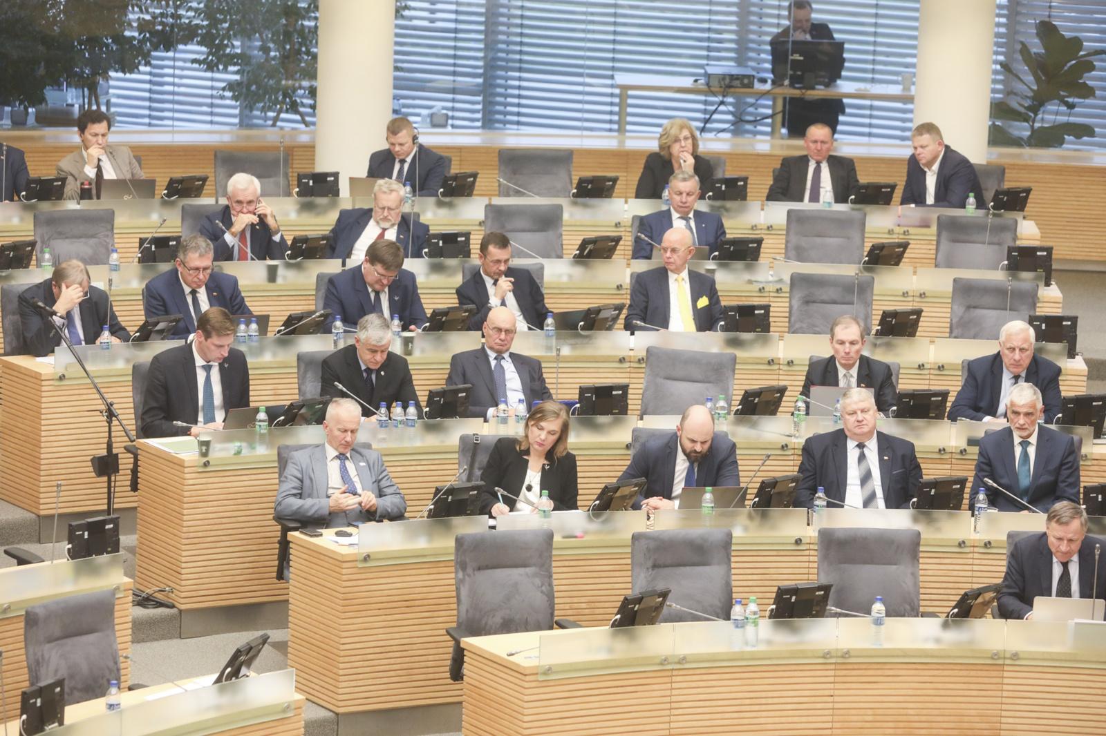 Seimas nesutiko su PVM lengvata, kai šildymui naudojamos medienos pjuvenos