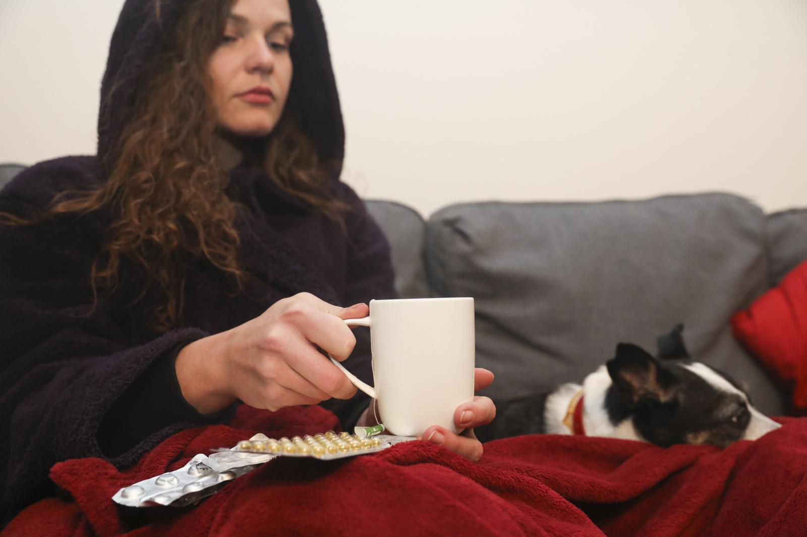 ULAC: sumažėjo sergamumas gripu ir peršalimo ligomis