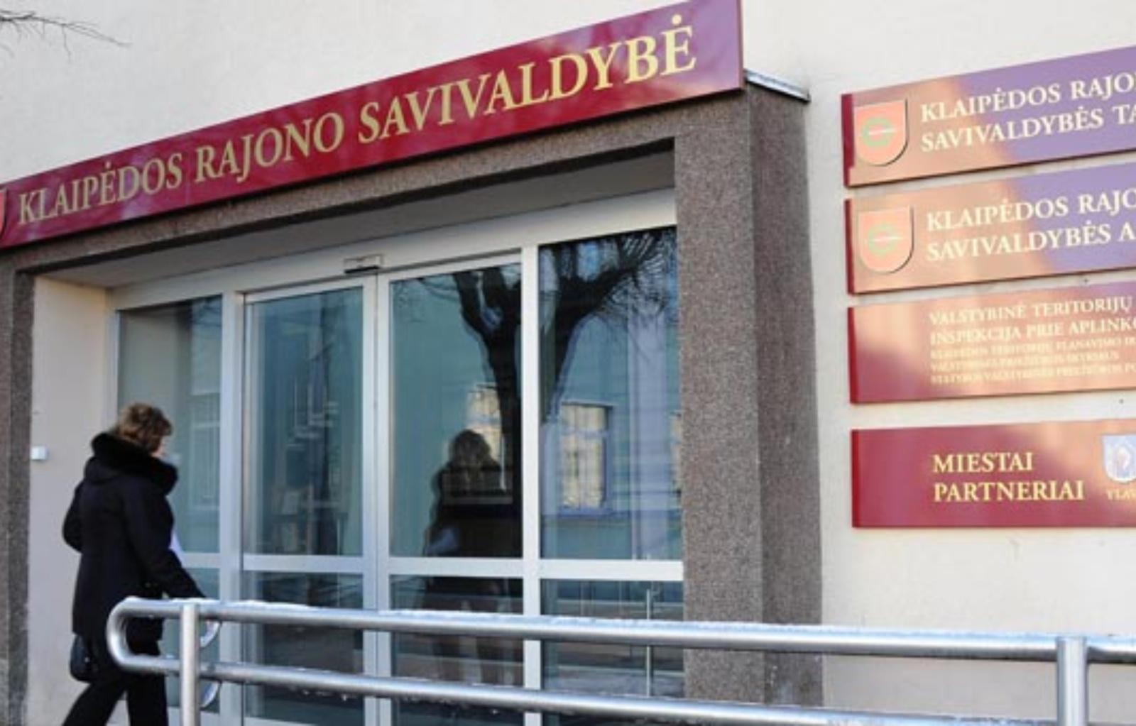 Klaipėdos rajono savivaldybės administracijos tarnautojas G. Kasperavičius įstatymo nepažeidė