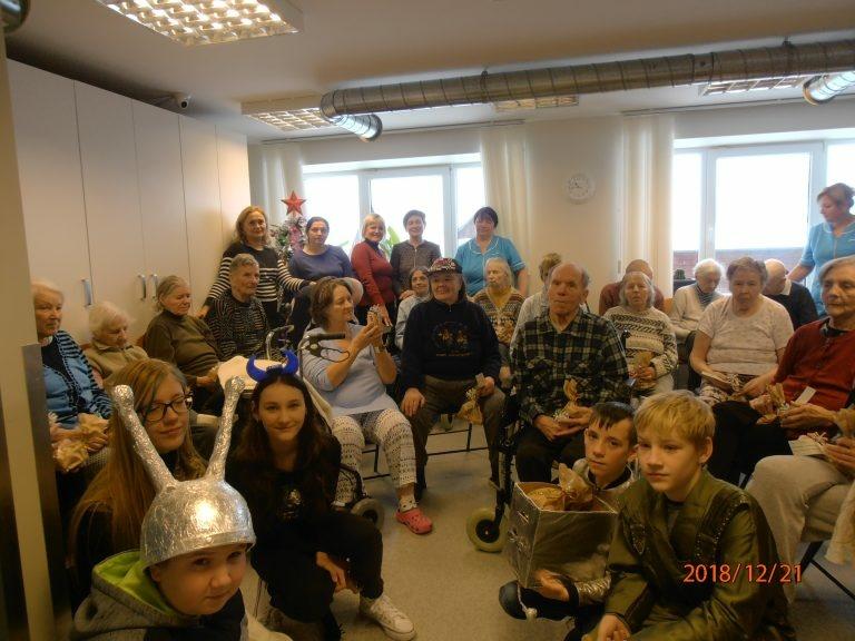 Kalėdinės akcijos Šilavoto pagrindinėje mokykloje