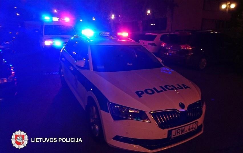 Kaune vyras smurtavo prieš moterį