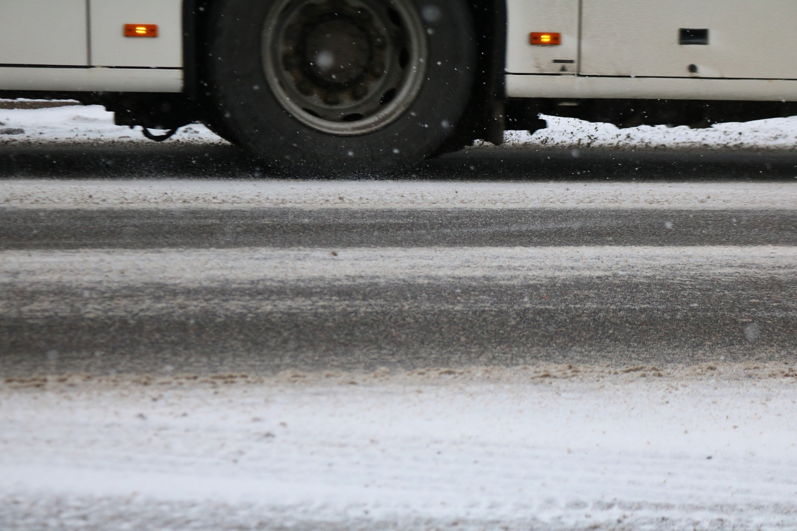 Panevėžyje autobusas kliudė neblaivų pėščiajį