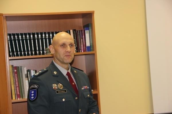 Zarasų rajono policijos komisariate - naujas viršininkas