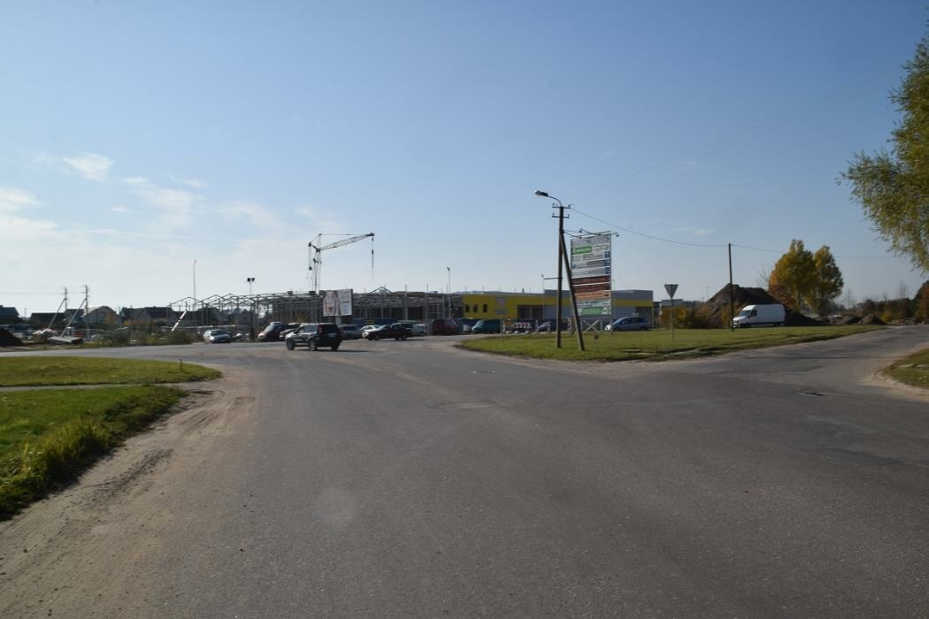Skuodo gatvėje bus įrengtos dvi žiedinės sankryžos