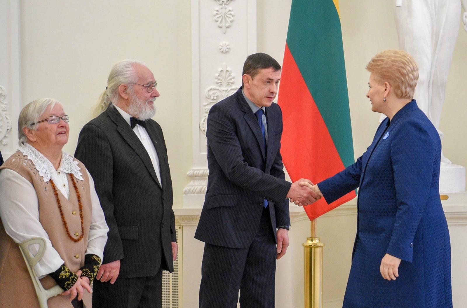 Sausio 13-osios išvakarėse prezidentė susitiko su Laisvės gynėjų artimaisiais