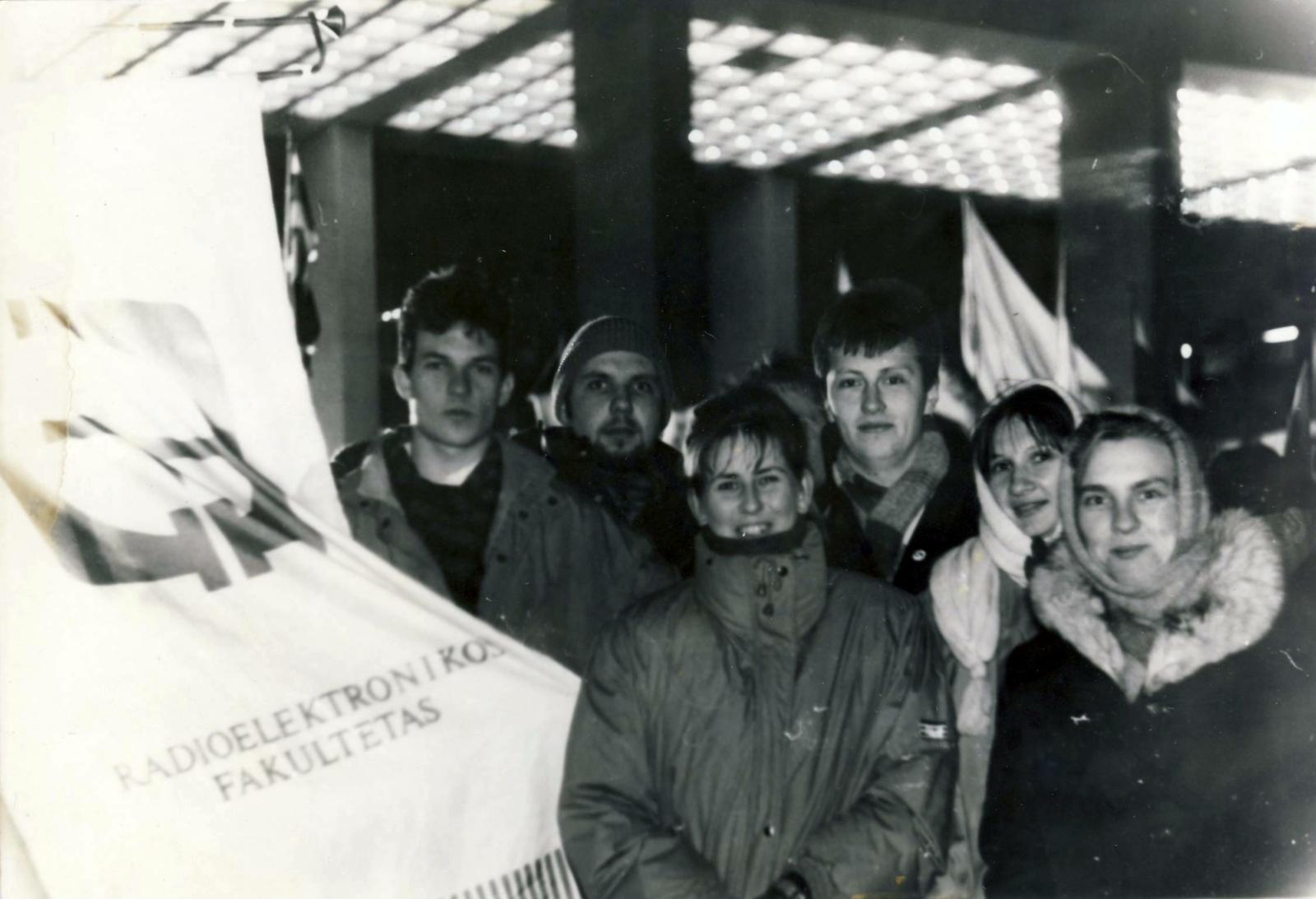 Sausio 13-ąją prisimenant: kovodami už laisvę KTU žmonės prisidėjo drąsa ir žiniomis