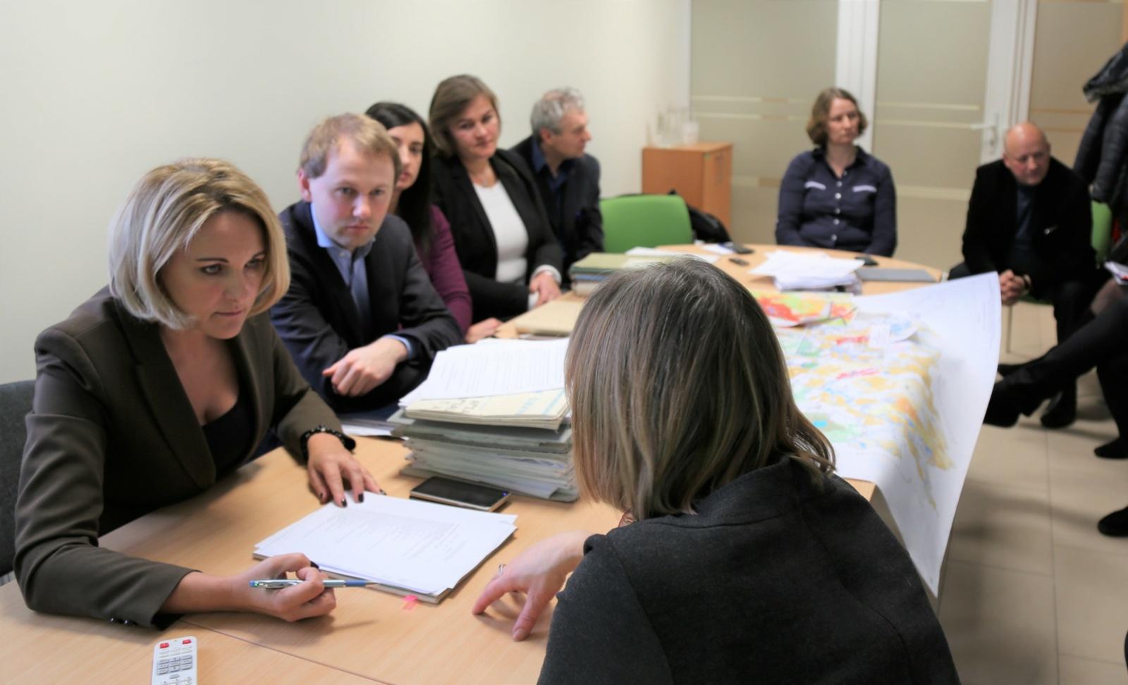 Aplinkos apsaugos agentūroje vyko susitikimas dėl Beržės upelio ištakų tikslinimo