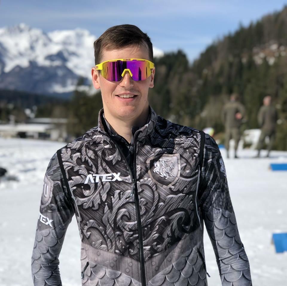 Biatlonininkas V. Strolia pasaulio taurės varžybose Vokietijoje - 48-as