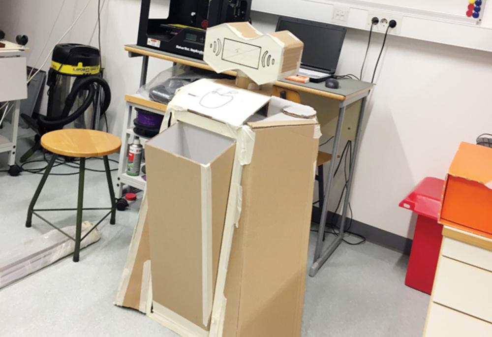 Gimnazijos moksleiviai pasiryžę sukonstruoti robotą
