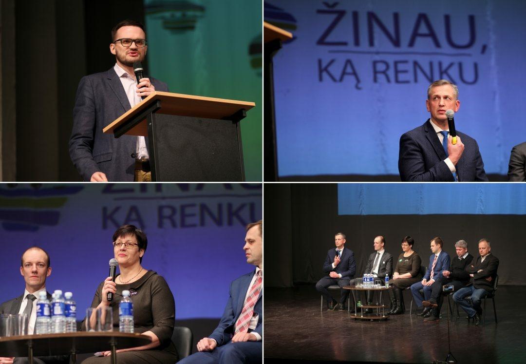 Po debatų – jaunimo vertinimai: pasigedo konkretumo, nuoširdumo ir pagarbos