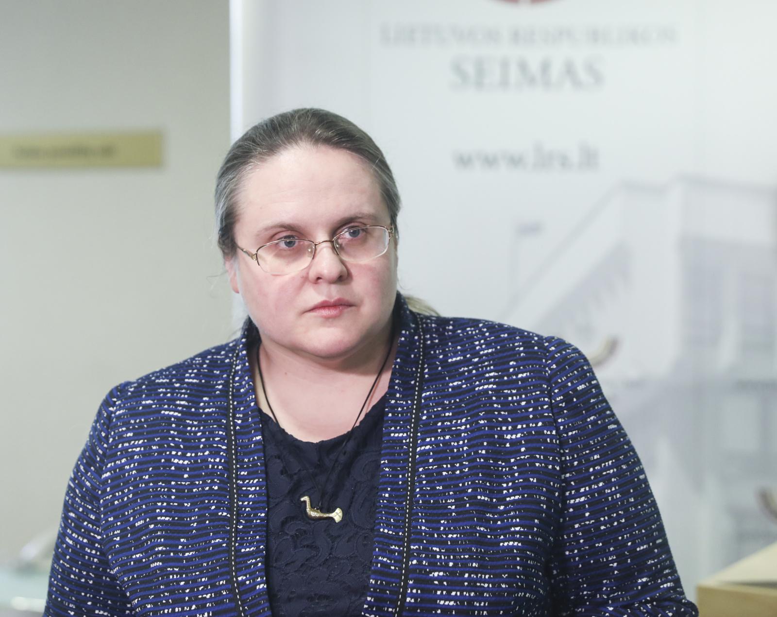 A. Širinskienė siūlo Civilinio kodekso pataisas dėl vaiko paėmimo
