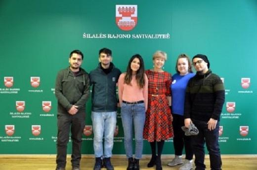 Šilalėje lankėsi Erasmus mainų programos studentai iš Turkijos