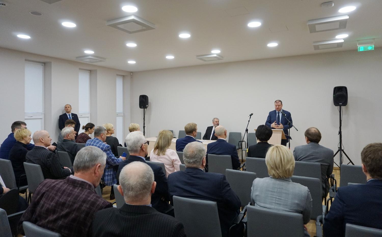 Kretingoje lankėsi Ministras Pirmininkas Saulius Skvernelis