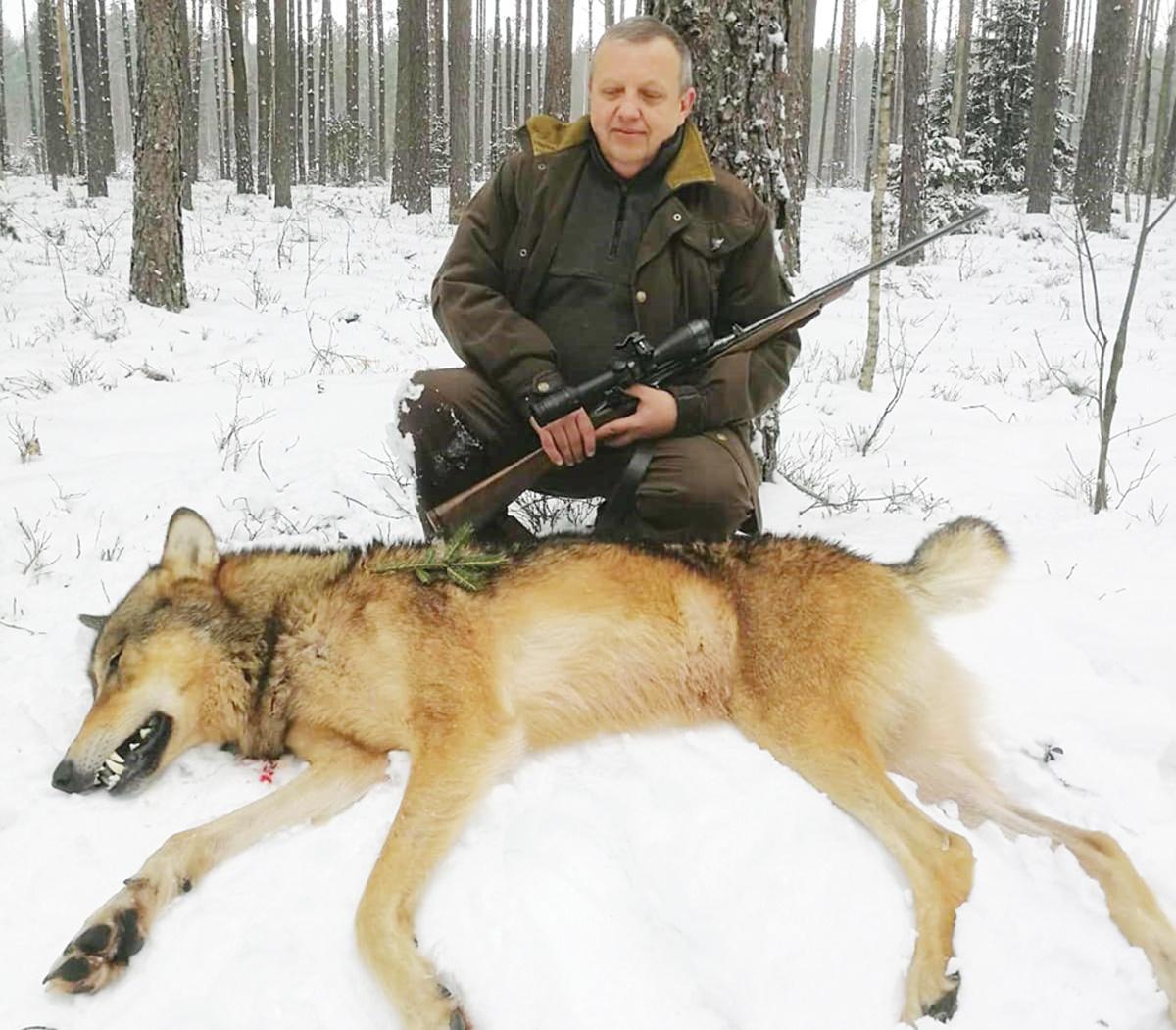 """Vilką nušovęs S. Večerkauskas: """"Situacija grėsminga"""""""