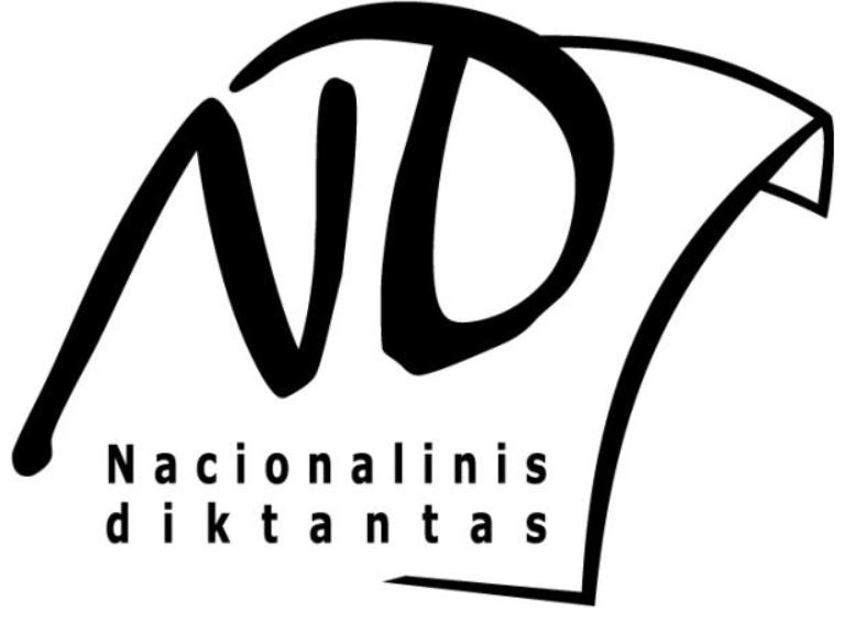 Nacionalinį diktantą rašysime kovo 8-ąją