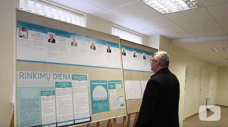 Ukmergės rajono savivaldybėje prasidėjo rinkimai