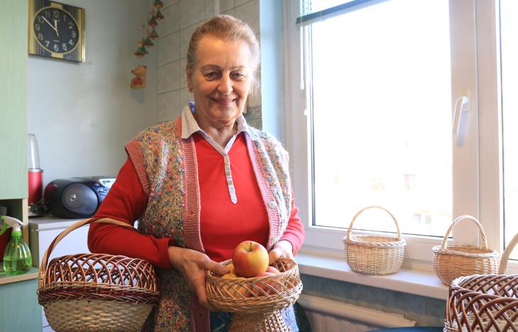 Tautodailininkė savo dirbinius puošia ir lietuviškomis vytelėmis