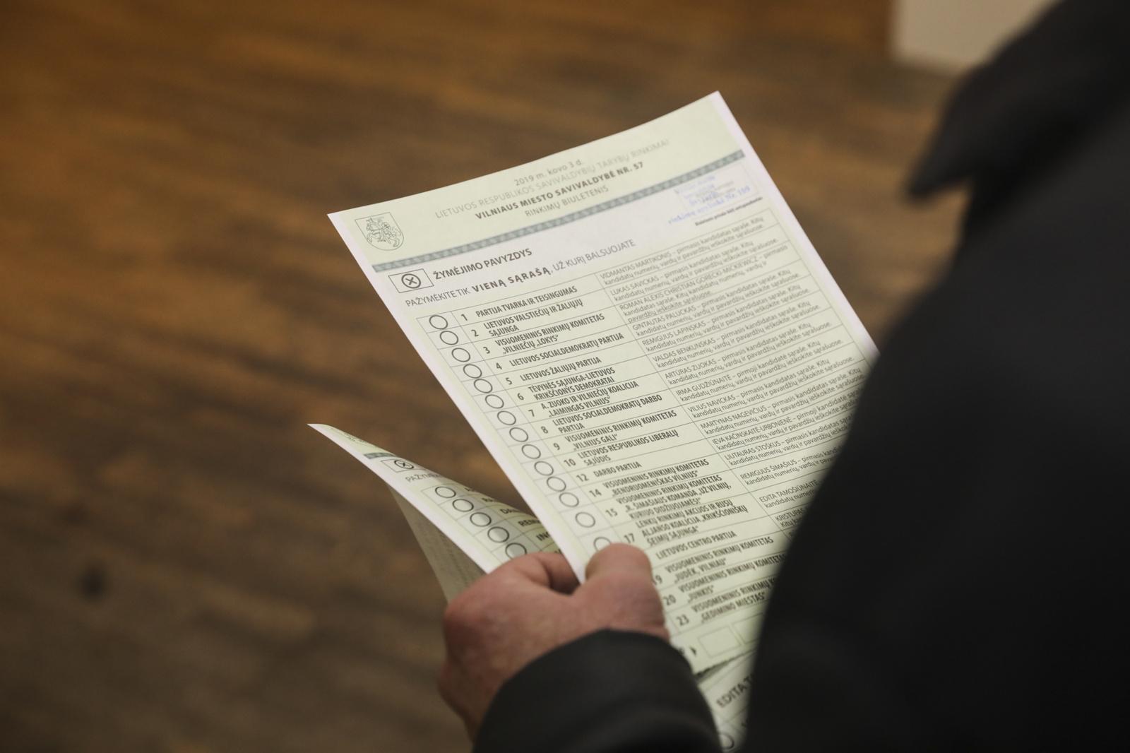 Savivaldos rinkimuose iki 18.00 val. balsavo 44,38 proc. rinkėjų