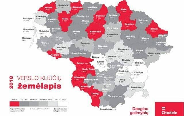 Verslo kliūčių žemėlapis Utenos apskrityje: svetingiausi verslui – Molėtai