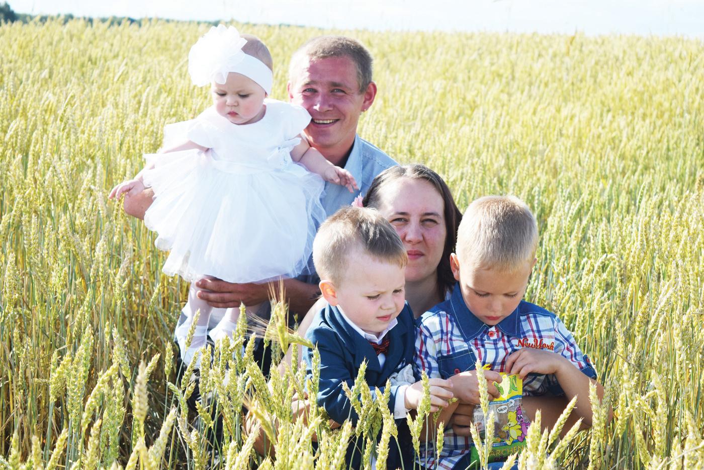 Gausioje šeimoje – net keturi sūnūs ūkininkai