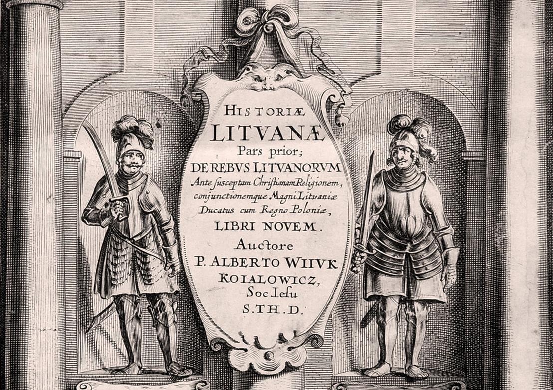 Pirmosios Lietuvos istorijos autorius –  tėvas jėzuitas