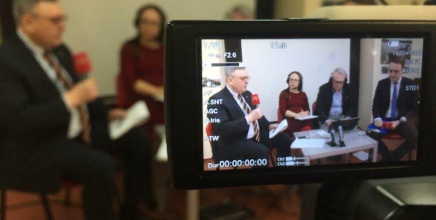 Paskutinieji kandidatų debatai: N. Cesiulis prieš G. Daukšį (vaizdo įrašas)